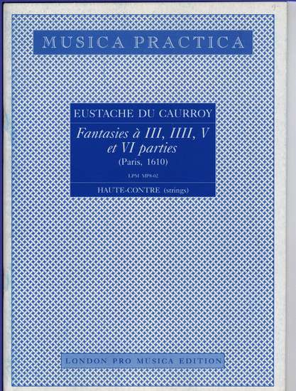 photo of Fantasies a III, IIII, V, et VI parties, 2 Haute-Contre(string)