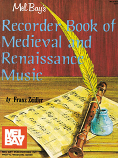 photo of Recorder Book of Medieval and Renaissance Music