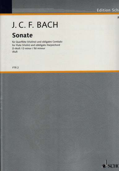 photo of Sonate in d minor