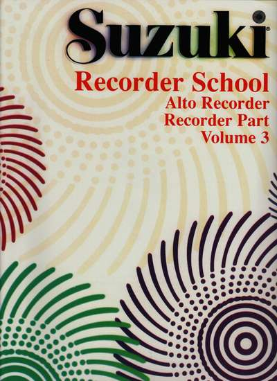photo of Suzuki Recorder School, Vol. 3 Alto
