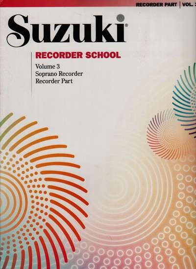 photo of Suzuki Recorder School, Vol. 3 Soprano