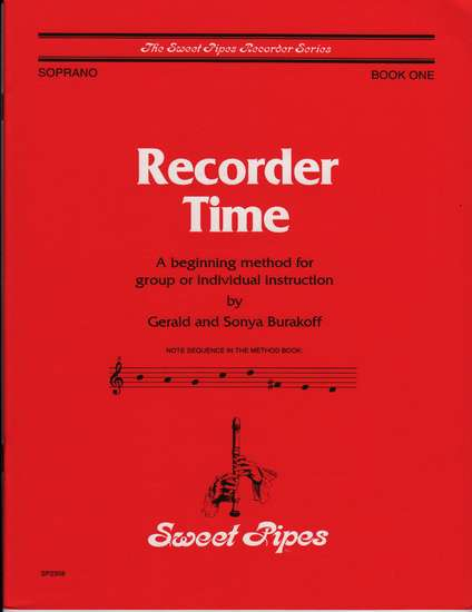 photo of Recorder Time, Book 1
