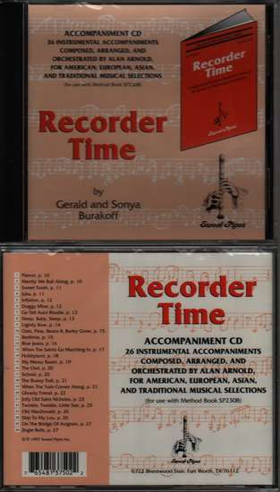 photo of Recorder Time, Book 1, CD