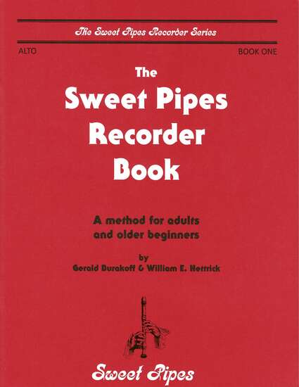 photo of The Sweet Pipes Recorder Book, Vol. 1 alto(adults)