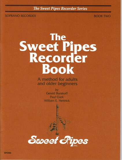 photo of The Sweet Pipes Recorder Book, Vol. 2 soprano(adults)