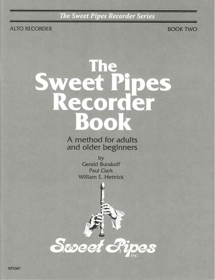 photo of The Sweet Pipes Recorder Book, Vol. 2 alto(adults)