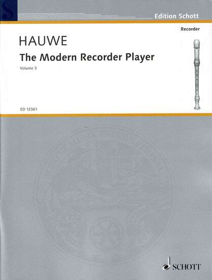 photo of The Modern Recorder Player, Vol. III