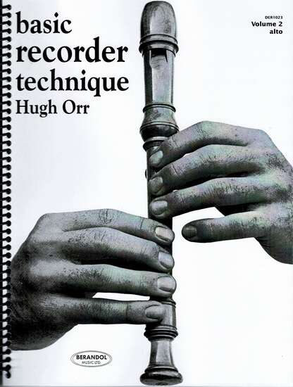 photo of Basic Recorder Technique, Vol. 2, alto