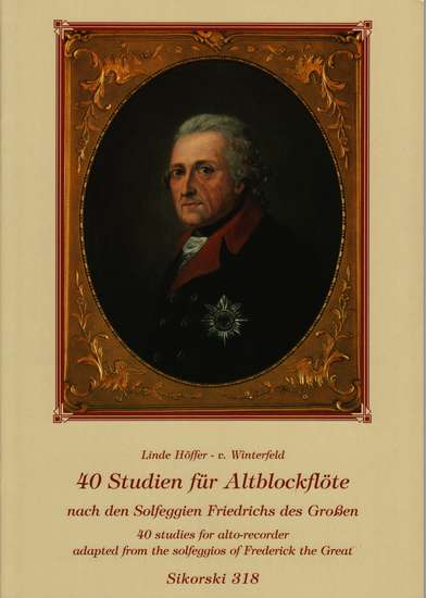 photo of 40 Studies for Alto from the Solfeggio of Frederick the Great