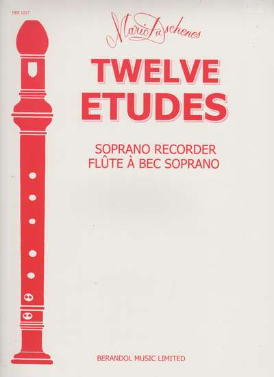 photo of Twelve Etudes, Soprano
