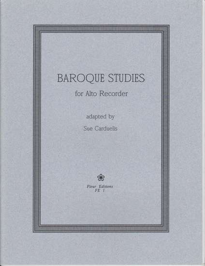 photo of Baroque Studies for Alto Recorder