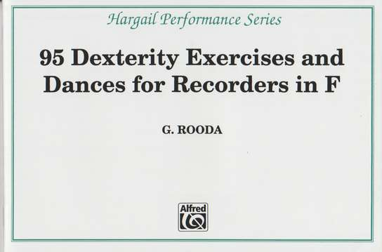 photo of 95 Dexterity Exercises & Dances for F Recorders