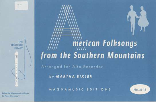 photo of American Folksongs from the Southern Mountains