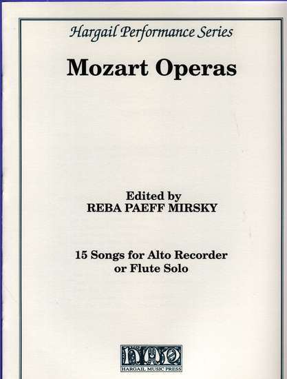 photo of 15 Songs from Mozart Operas