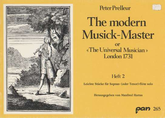 photo of The Modern Musick-Master, London 1731,Vol. 2