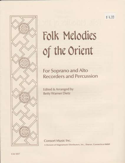 photo of Folk Melodies of the Orient
