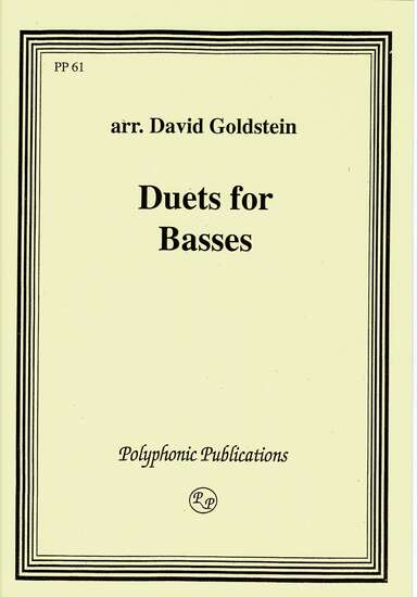 photo of Duets for Basses