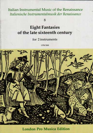 photo of Eight Fantasies of the late 16th Century