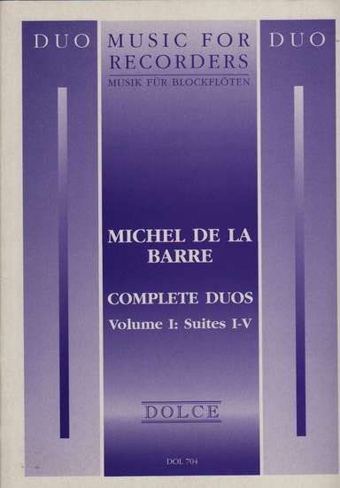 photo of Complete Duos, Volume I: Suites I-V
