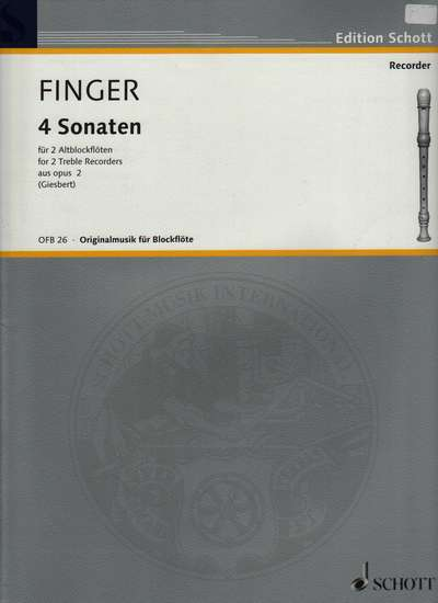 photo of Four Sonatas, Op. 2