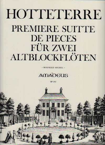 photo of 1. Premiere Suite de Pieces Fur Zwei Altblockfloten, Op. 4