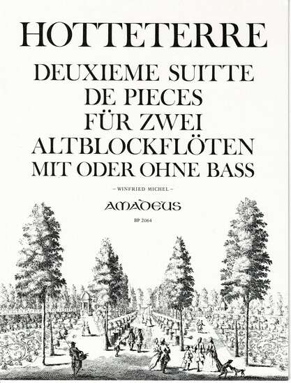 photo of 2. Deuxieme Suite de Pieces Fur Zwei Altblockfloten, Op. 6