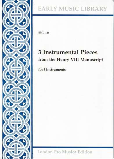 photo of 3 Instrumental Pieces from the Henry VIII Manuscript