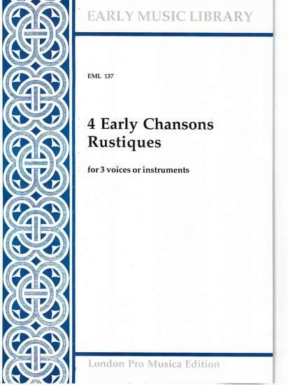 photo of 4 Early Chansons Rustiques