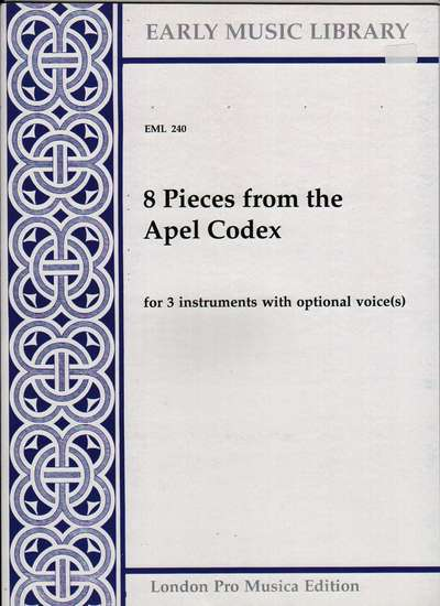 photo of 8 Pieces from the Apel Codex