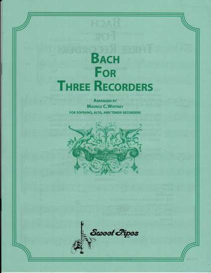 photo of Bach for Three Recorders