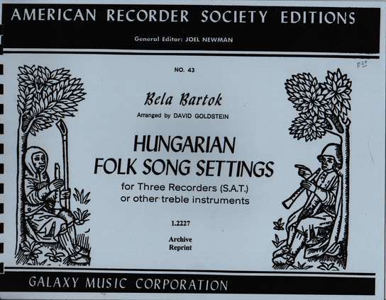 photo of Hungarian Folk Song Settings