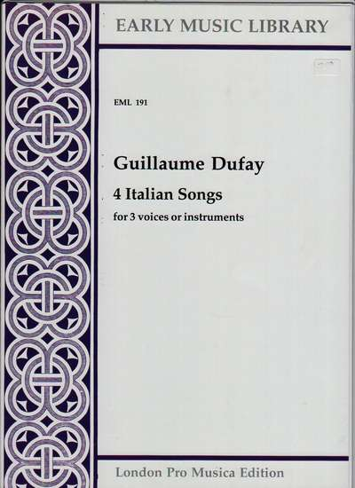 photo of 4 Italian Songs
