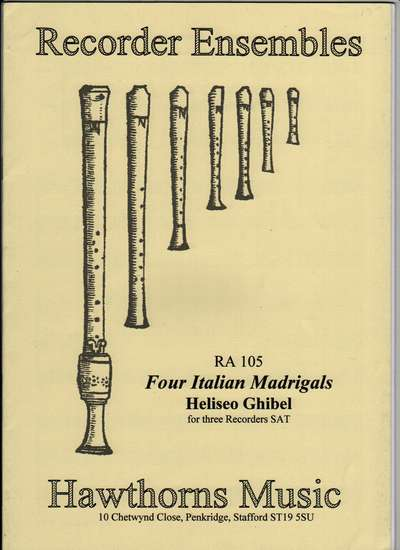 photo of Four Italian Madrigals