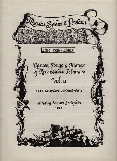 photo of Dances, Songs, & Motets of Poland, Vol. II