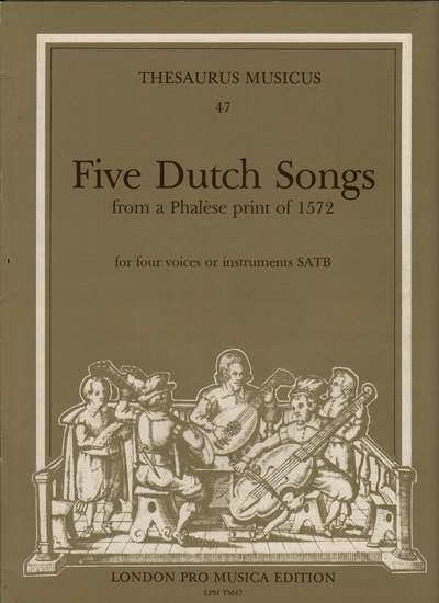 photo of Five Dutch Songs