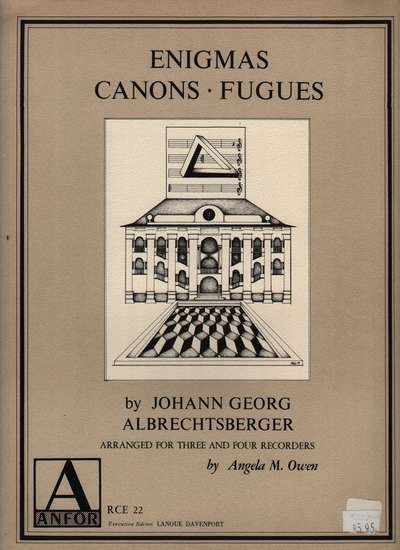 photo of Enigmas, Canons, Fugues