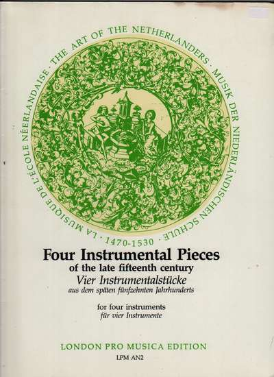 photo of Four Instrumental Pieces
