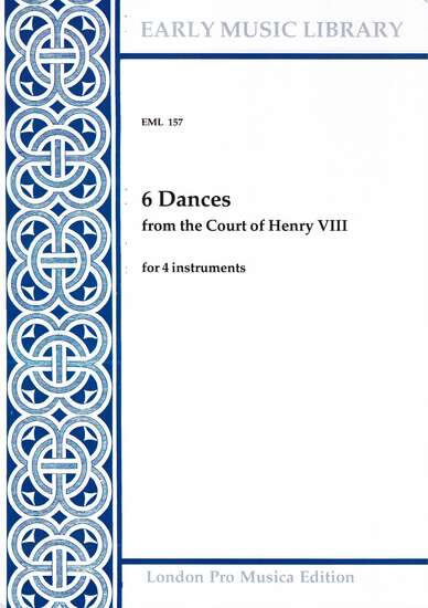 photo of 6 Dances from the Court of Henry VIII