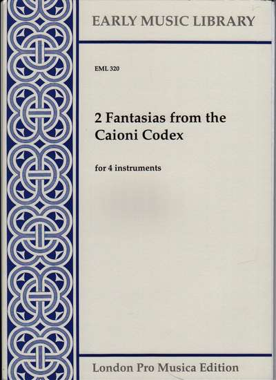 photo of 2 Fantasias from the Caioni Codex
