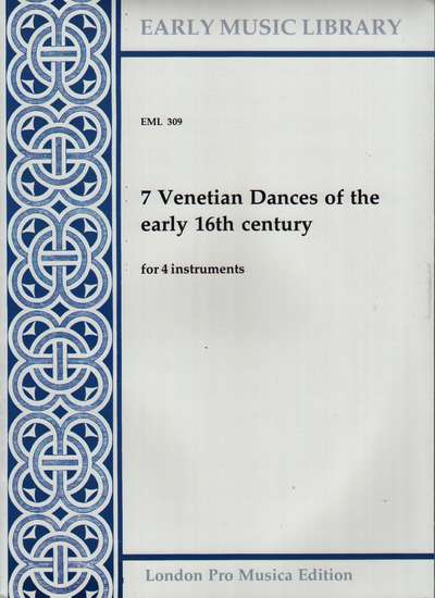 photo of 7 Venetian Dances of the early 16th century