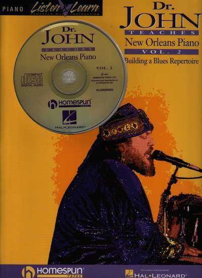 photo of Dr. John Teaches New Orleans Piano, Vol. 2