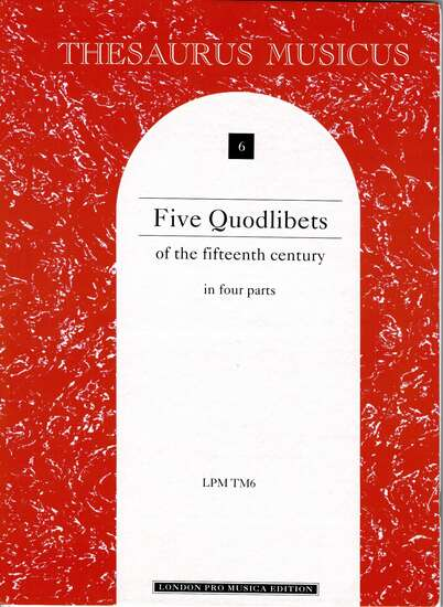 photo of Five Quodlibets