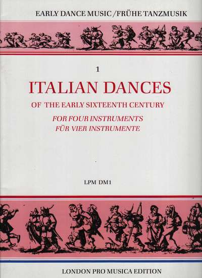 photo of Italian Dances of the Early Sixteenth Century, Vol.1
