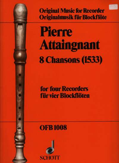 photo of 8 Chansons (1533)