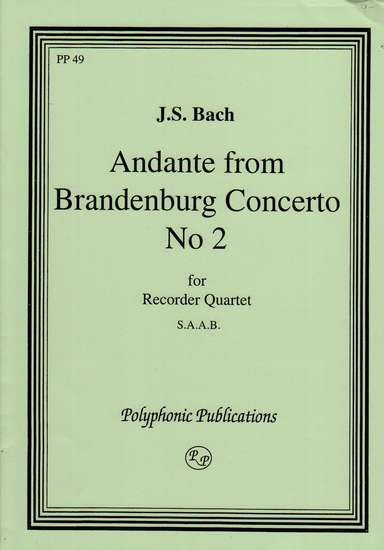 photo of Andante from Brandenburg No. 2