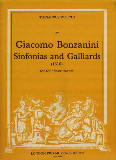 photo of Sinfonias and Galliards(1616)