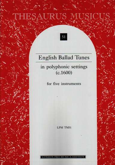 photo of English Ballad Tunes