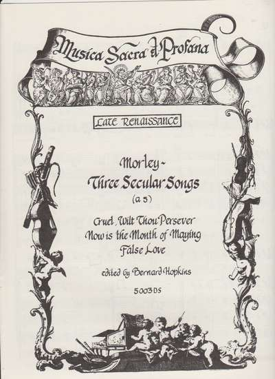 photo of Three Secular Songs(director