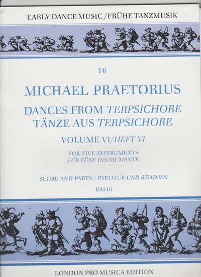 photo of Dances from Terpsichore, Vol. VI (parts)