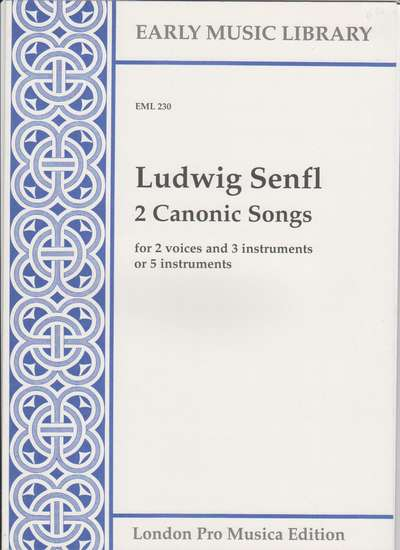 photo of 2 Canonic Songs